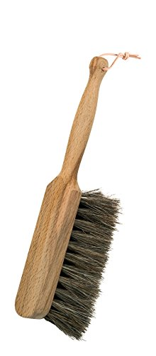 Redecker Horsehair Children's Hand Brush with Oiled Beechwood Handle, Extra-Small Kid-Friendly...