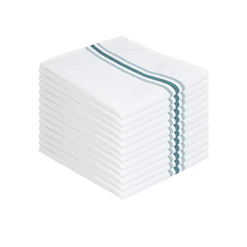 Arkwright Bistro Dinner Napkins (18x22, 12 Pack), Professional Restaurant Quality Cloth Napkins with...