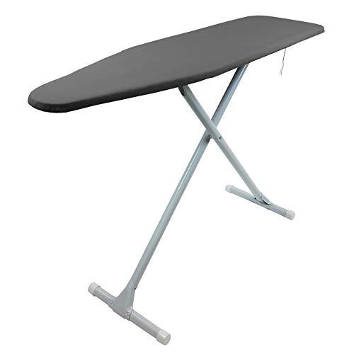 Homz T-Leg Ironing Board, Charcoal Gray