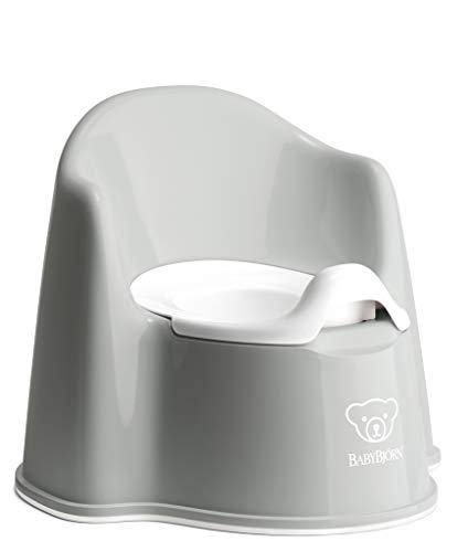 BabyBjörn Potty Chair, Gray/White