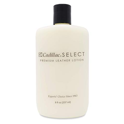 Cadillac Select Leather Lotion Cleaner and Conditioner- for Handbags, Sofas, Jackets, Furniture,...