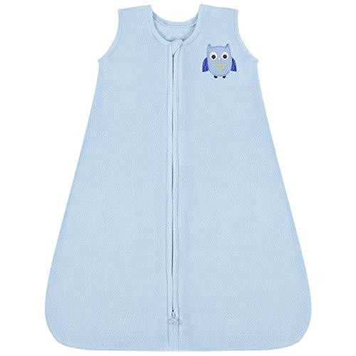 TILLYOU All Season Micro-Fleece Baby Sleep Bag and Sack with Inverted Zipper, Clothes for Toddler...