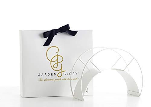 White Garden Hose Holder - White Snake - Premium Design Wall Mounted Water Hose Hanger - The Most...