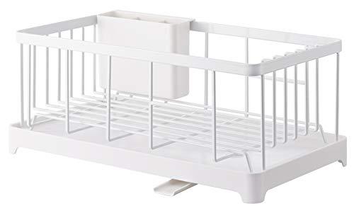 YAMAZAKI home 2875 Wire Dish Drainer Rack, One Size, White
