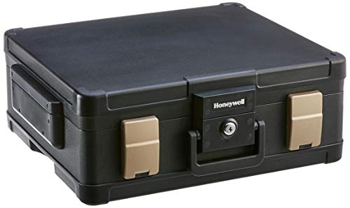 Honeywell Safes & Door Locks LHLP1104G 1 Hour Fire Safe Waterproof Safe Box Chest with Carry Handle,...