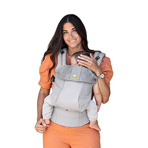 LÍLLÉbaby Complete All Seasons Ergonomic All-Positions Baby Carrier Newborn to Toddler with Lumbar...