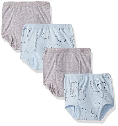 Gerber Baby Boys Infant Toddler 4 Pack Potty Training Pants Underwear, Hello Bear, 2T