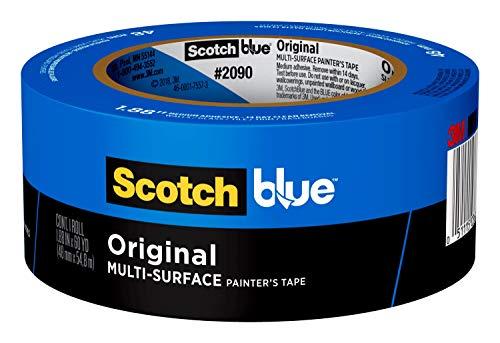 Scotch Painter's Tape 2090-2 ScotchBlue Original Multi-Surface Painter's Tape, 1.88 inches x 60...
