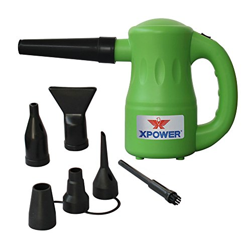 XPOWER A-2 Multi-Purpose Powered Air Duster - Green