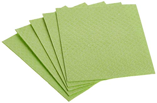 If You Care Sponge Cloths – 5 Count – 100% Natural Cleaning Rags for Kitchen, Bathroom, Home...