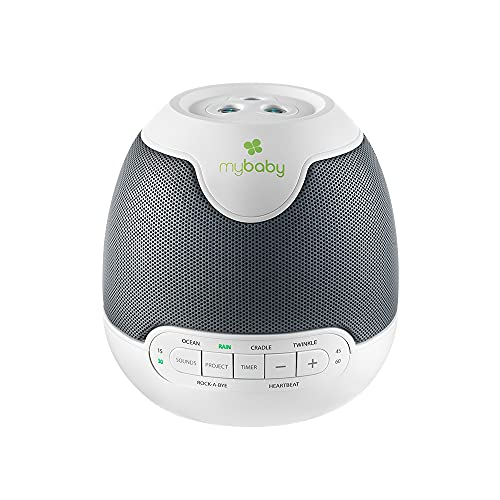 MyBaby, SoundSpa Lullaby - Sounds & Projection, Plays 6 Sounds & Lullabies, Image Projector...