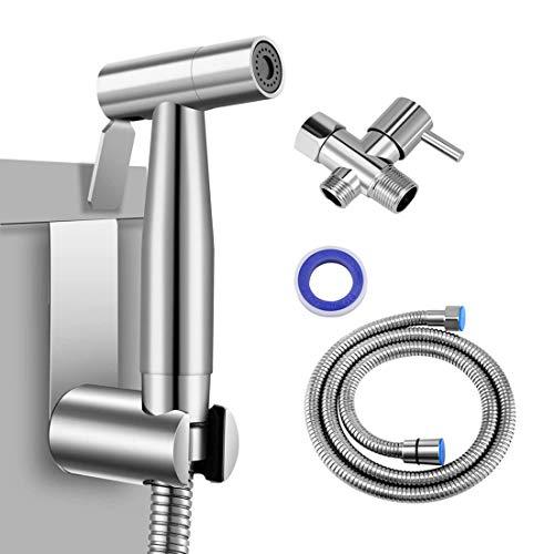 PowerDoF Bidet Sprayer Cloth Diaper Sprayer for Toilet, Handheld Bidet Sprayer Set for Toilet...