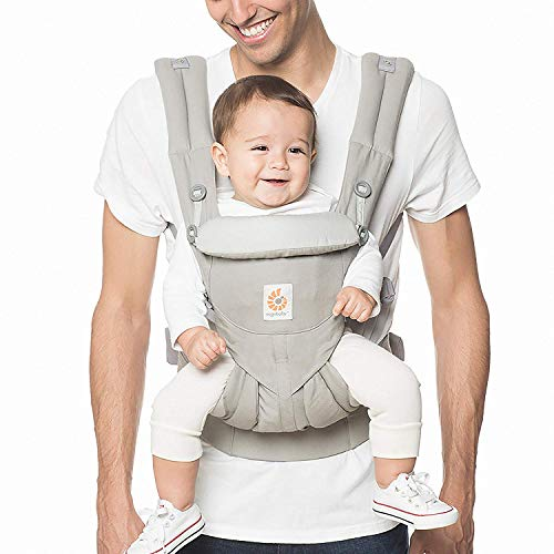 Ergobaby Omni 360 All-Position Baby Carrier for Newborn to Toddler with Lumbar Support (7-45...