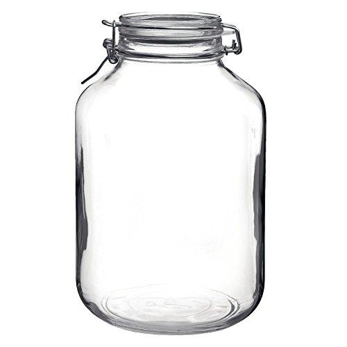Bormioli Rocco 5L Swing Top Large Glass Fido Canning Jar