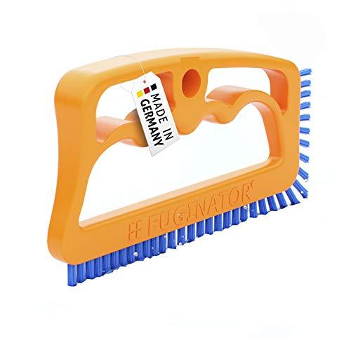 Fuginator Scrub Brush for Tile and Grout: Stiff Nylon Bristle Scrubbing Brush - Bathtub and Shower...