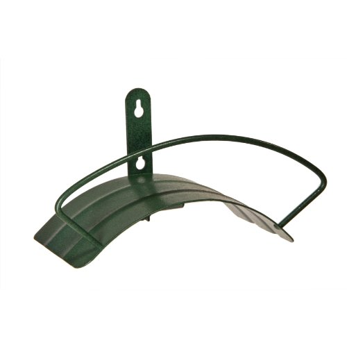 Yard Butler Deluxe Heavy Duty Wall Mount Hose Hanger Easily Holds 100' Of 5/8' Hose Solid Steel...