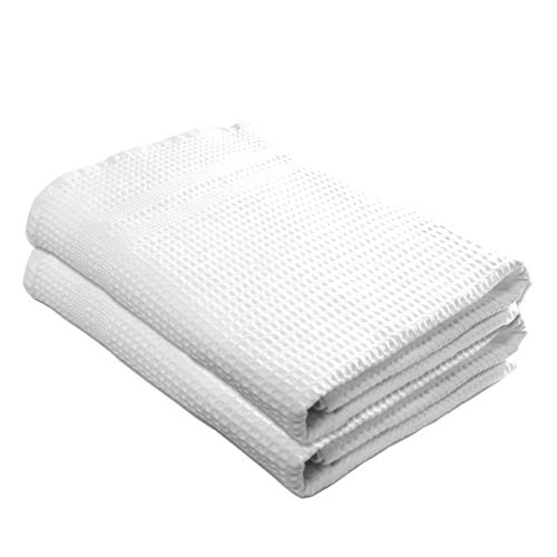 Gilden Tree Premium Waffle Weave Bath Towels 2 Pc Set 100% Natural Cotton Quick Dry Lint Free Soft...