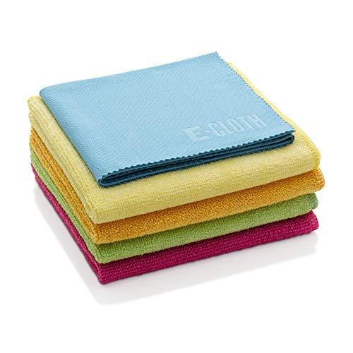 E-Cloth Microfiber Cloth Starter Pack, Reusable Microfiber Cleaning Cloths, 300 Wash Guarantee,...