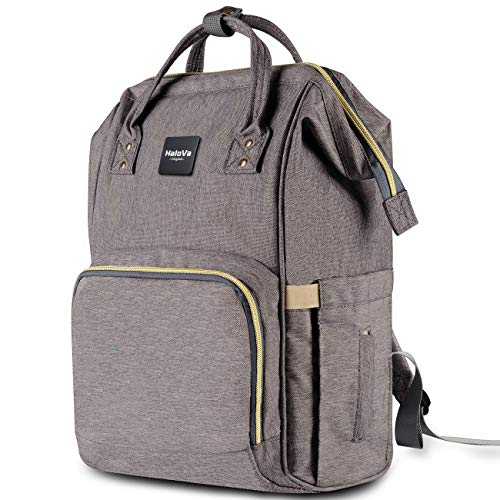 HaloVa Diaper Bag Multi-Function Waterproof Travel Backpack Nappy Bags for Baby Care, Large...