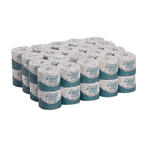 Georgia-Pacific Angel Soft Professional Series Premium 2-Ply Embossed Toilet Paper, 16840, 450...
