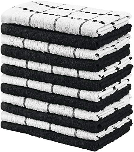 Utopia Towels Kitchen Towels, Pack of 12, 15 x 25 Inches, 100% Ring Spun Cotton Super Soft and...