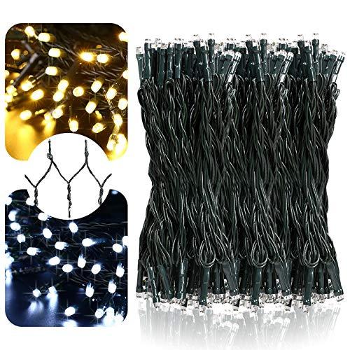 LetsFunny 108ft 300 LED Christmas String Lights, Christmas Lights - UL Certified Outdoor & Indoor...