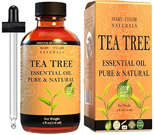Tea Tree Essential Oil (4 oz), Premium Therapeutic Grade, 100% Pure and Natural, Perfect for...