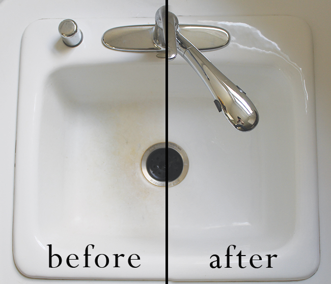 sc 1 st  A Clean Bee & How To Clean a Kitchen Sink in 3 Minutes - A Clean Bee