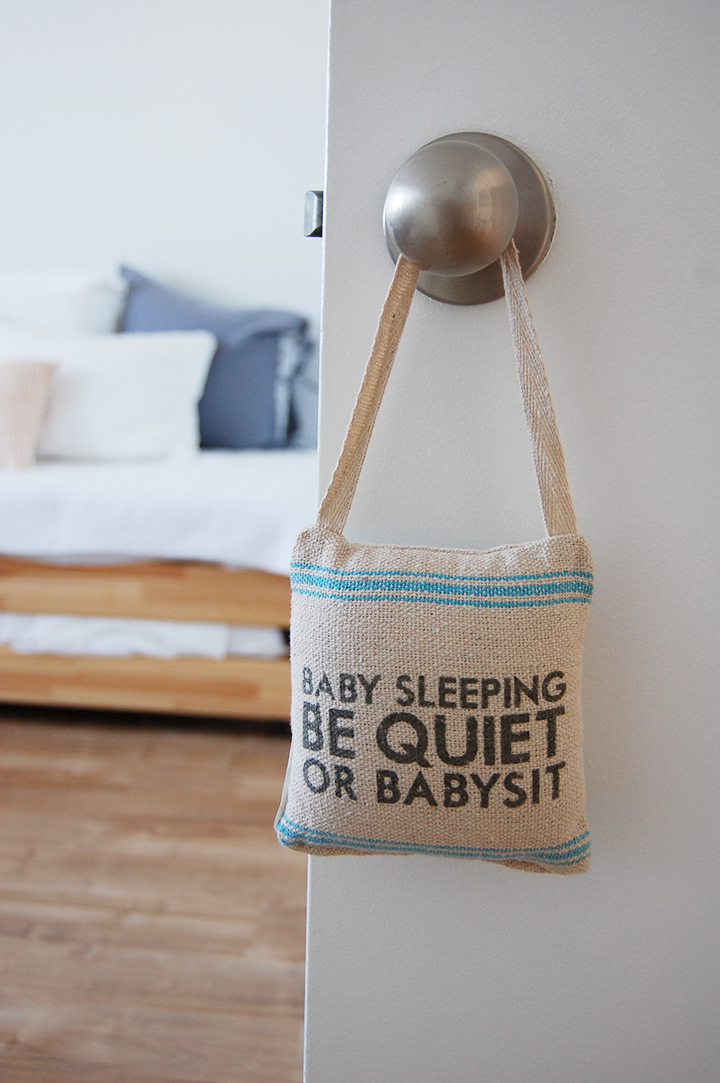 Minimalist nursery accessories