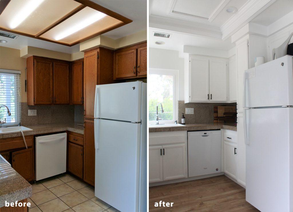 Clean Kitchen Makeover