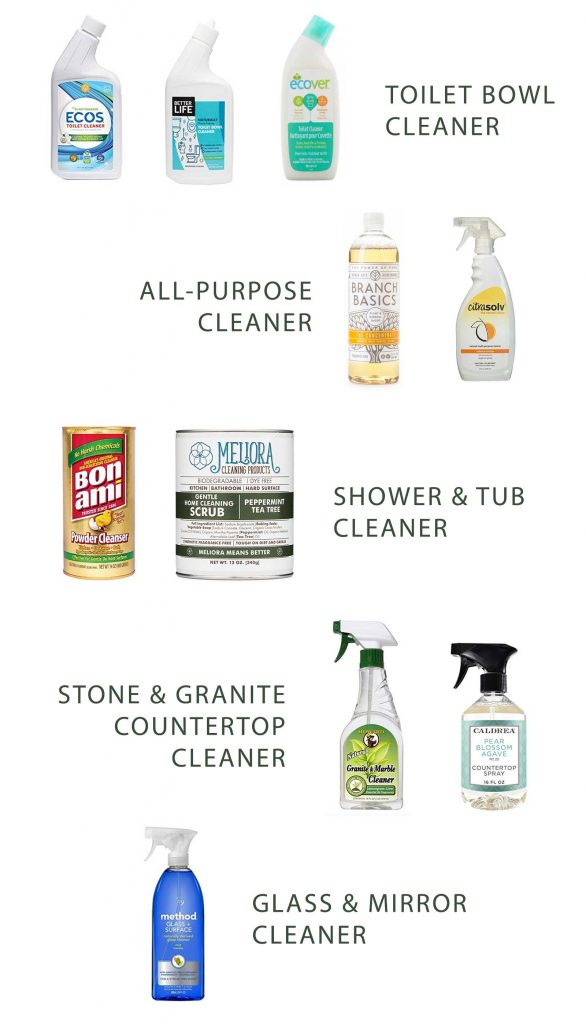 Bathroom cleaning checklist - natural cleaning solutions for the bathroom