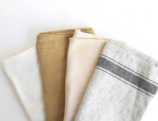 How to wash linen sheets and table settings
