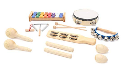 Musical minimalist toddler toys