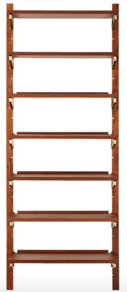 Mounted shelves act as attractive entryway shoe storage solutions.