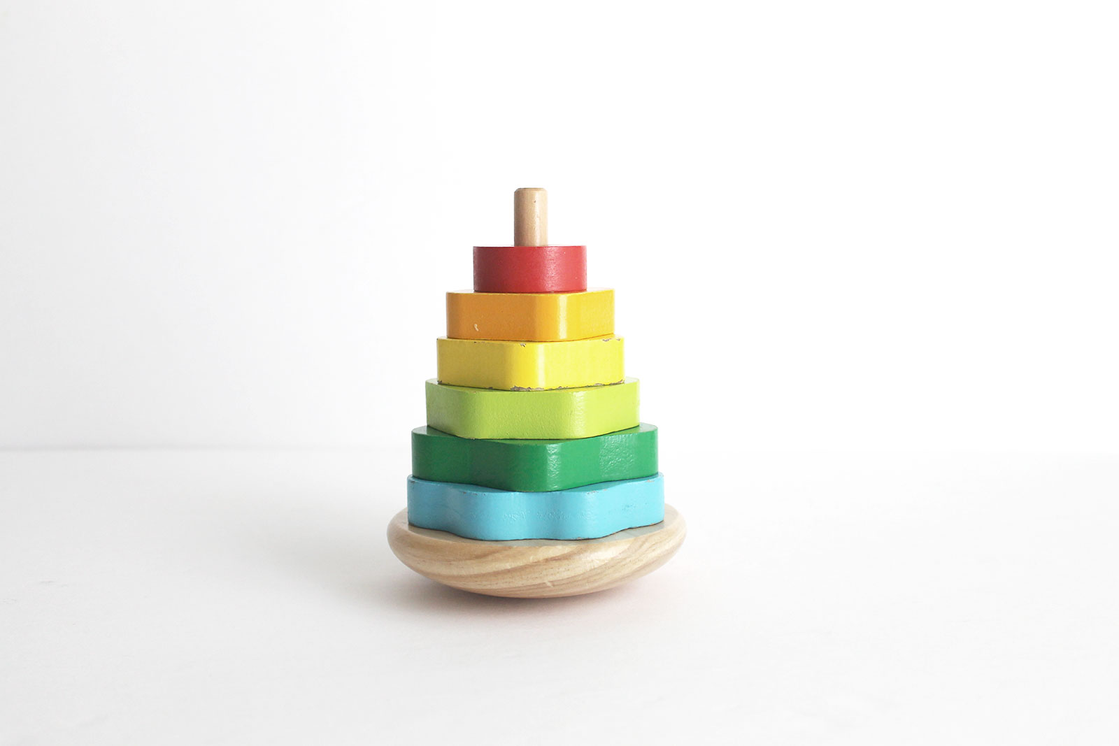 Minimalist toddler toys inspired by Montessori Learning