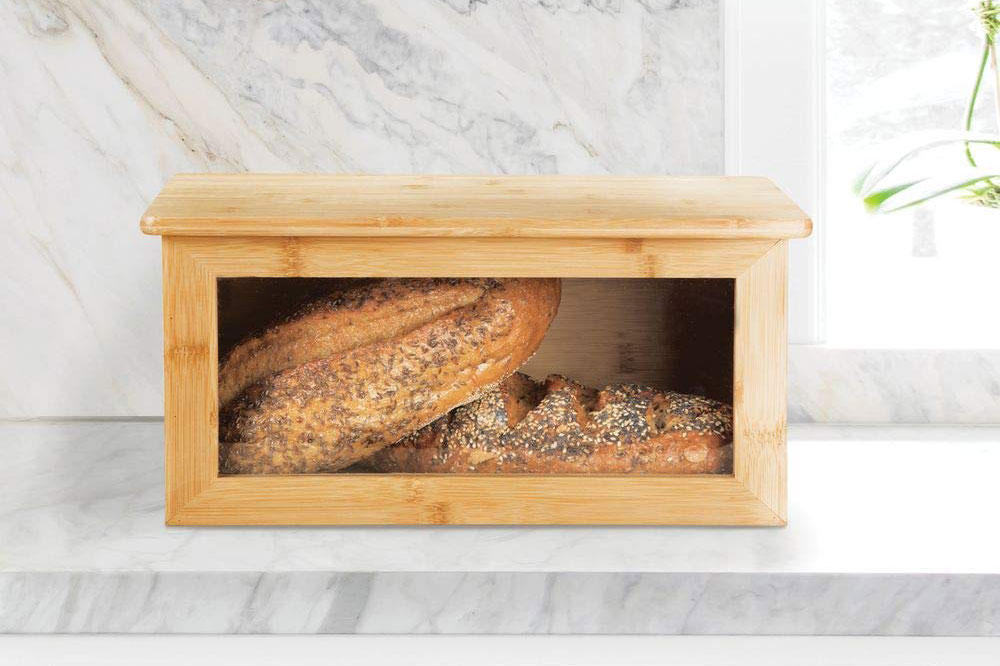 Best bread box for keeping bread fresh in an organized kitchen