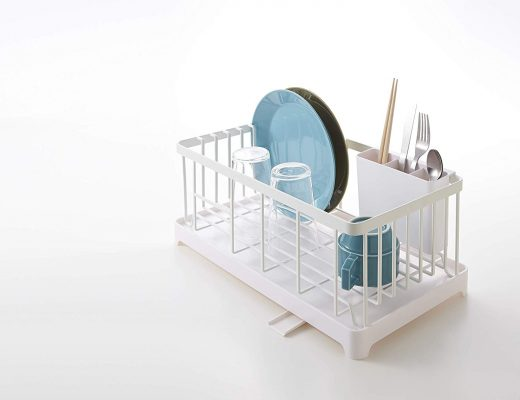 Space saving dish rack