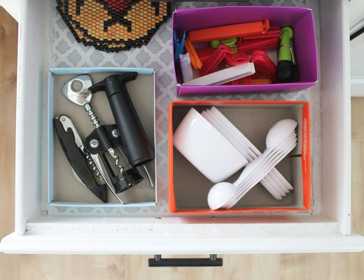 DIY Hikidashi Boxes