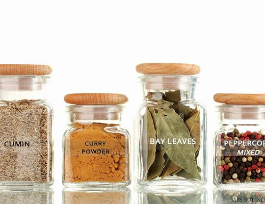 best spice jars and spice jar labels