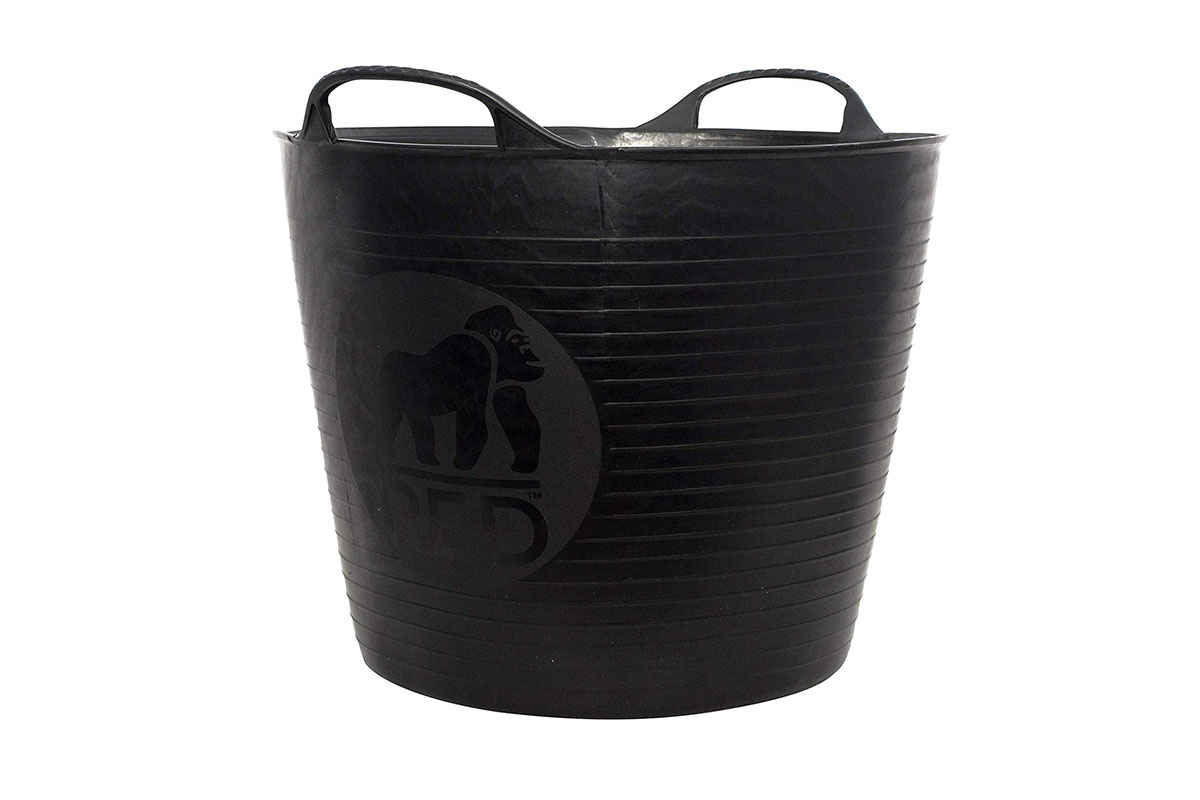 rubber or plastic recycled trugs