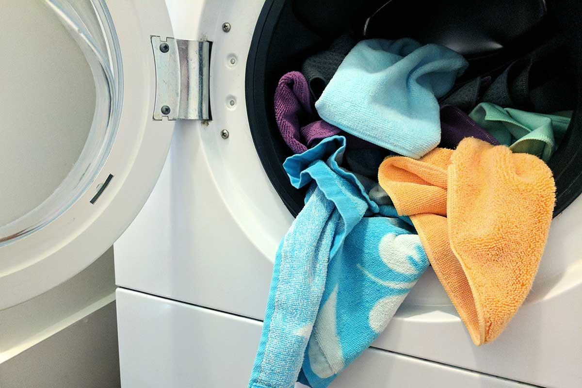 How to deodorize a washing machine
