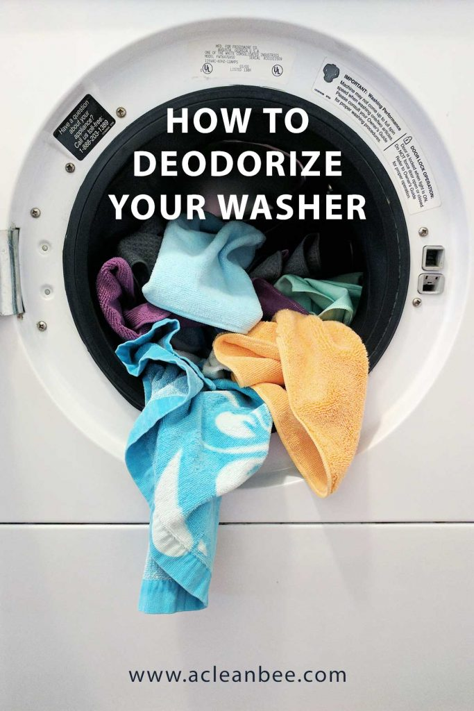 How to deodorize a washing machine if your washer smells like eggs