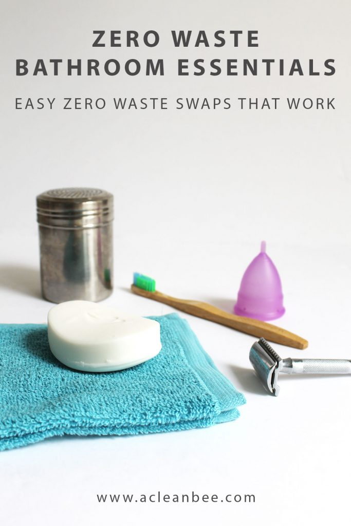 Zero waste bathroom swaps that are both easy and effective.