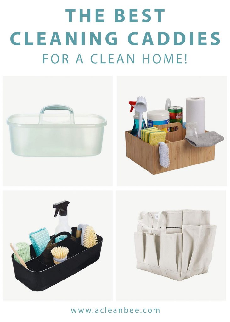 The best cleaning caddy for any clean home. Cleaning caddies in the most durable and sustainable materials. The best canvas, bamboo, and plastic cleaning caddies.