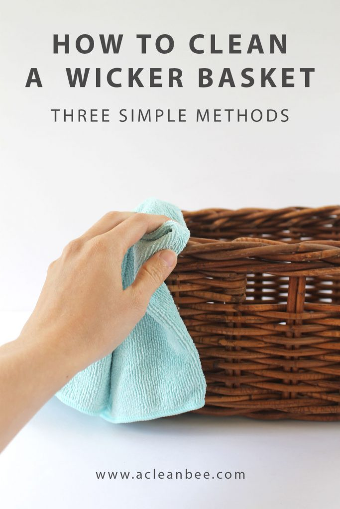 Wicker baskets are fantastic for organizing items in your home, but they also require occasional cleaning. Learn how to clean wicker baskets using three simple methods.#wickerbasket #cleanwickerbasket #cleaningtips