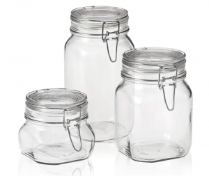Bormiolo Rocco Fido canning jar - glass pantry jars