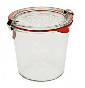 Weck canning jar - glass pantry jars