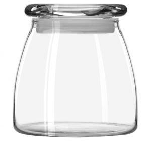 Libbey Vibe canning jar - glass pantry jars