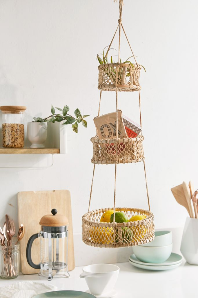 Hanging Fruit Baskets  - Fruit Storage Ideas