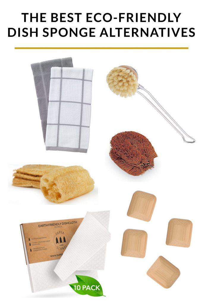 The best eco-friendly dish sponge alternatives